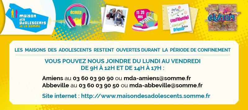 Les MDA d'Amiens et d'Abbeville ouvrent progressivement